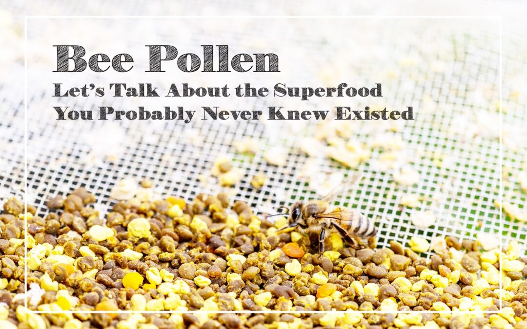 Bee Pollen: Let's Talk About the Superfood You Probably Never Knew Existed